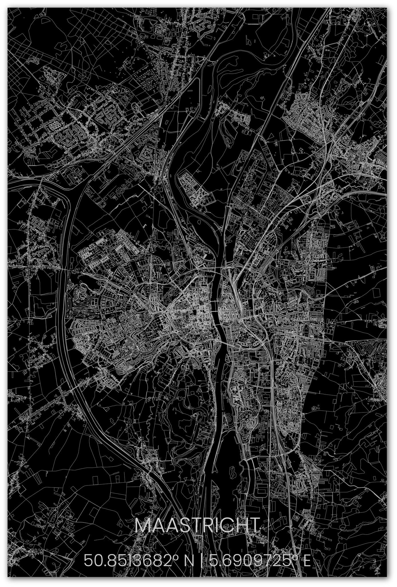 Stadsplattegrond Maastricht XL-2
