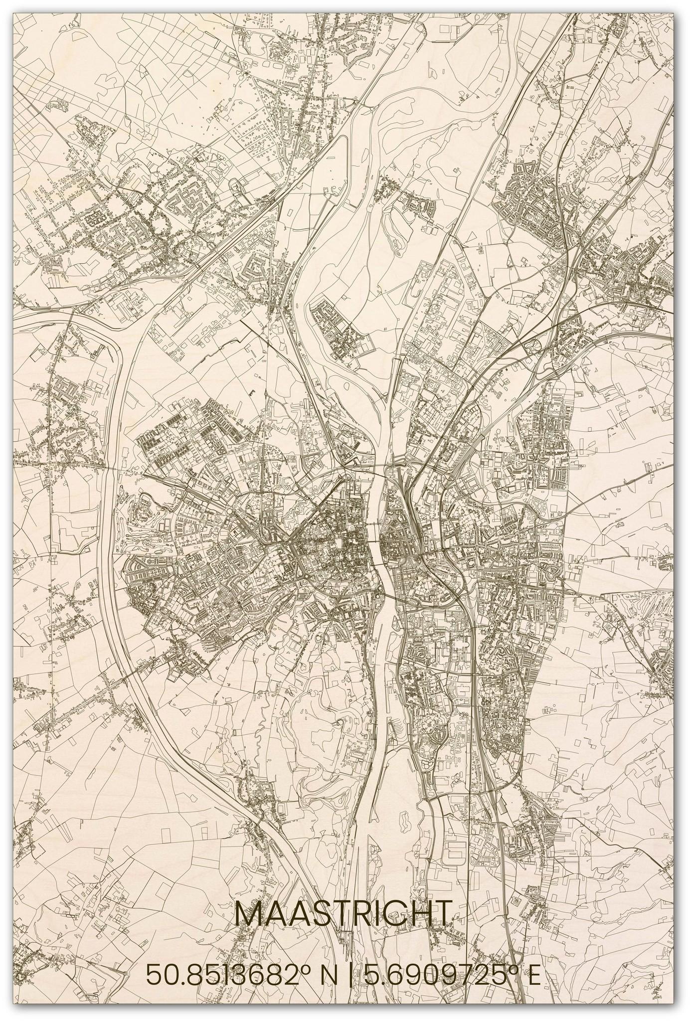 Stadsplattegrond Maastricht XL-1