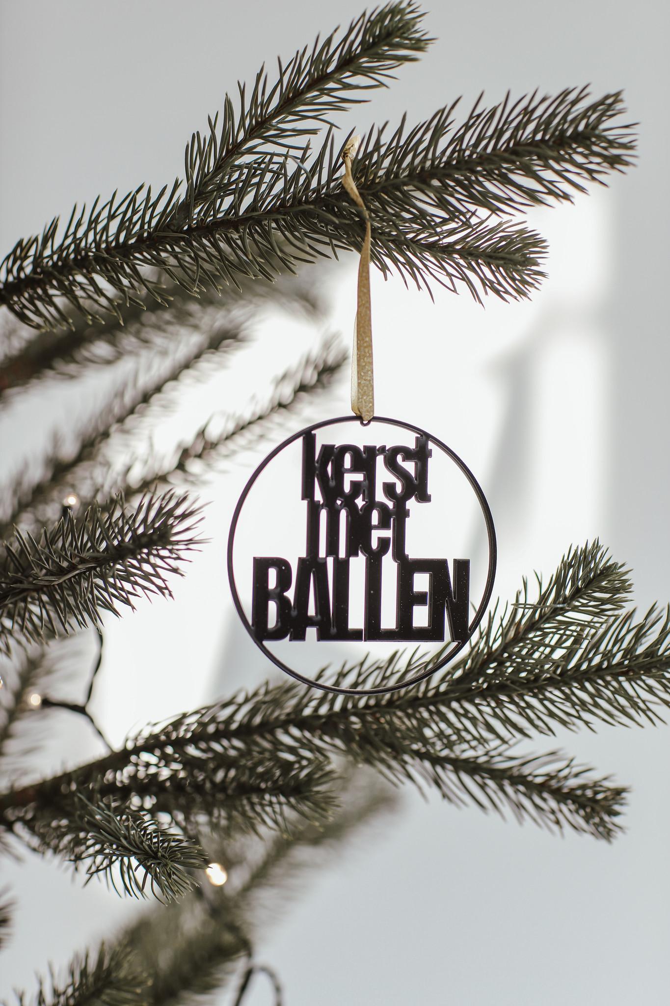 """Kerstbal """"Ik haat kerst""""-3"""