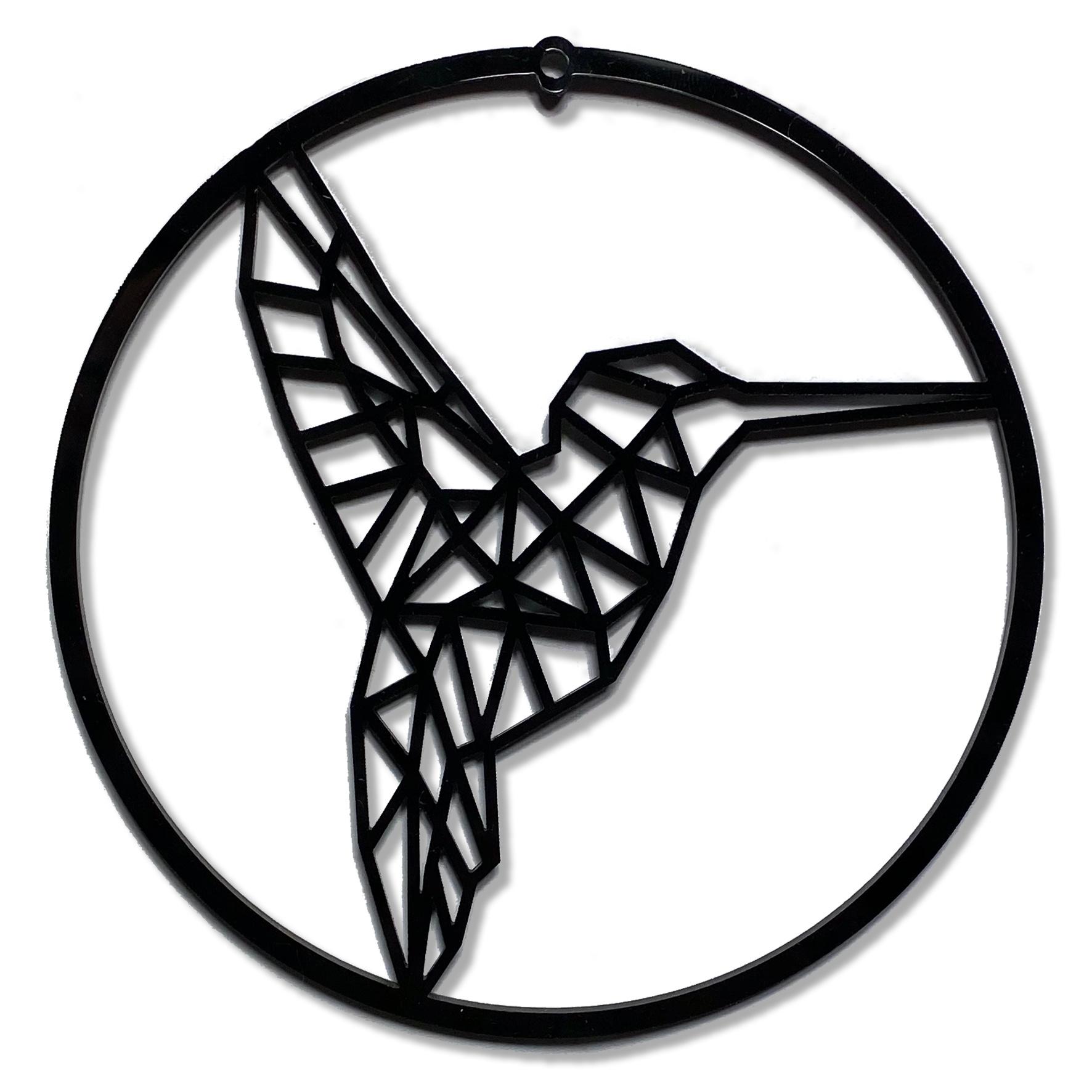 Kerstbal Kolibrie-1