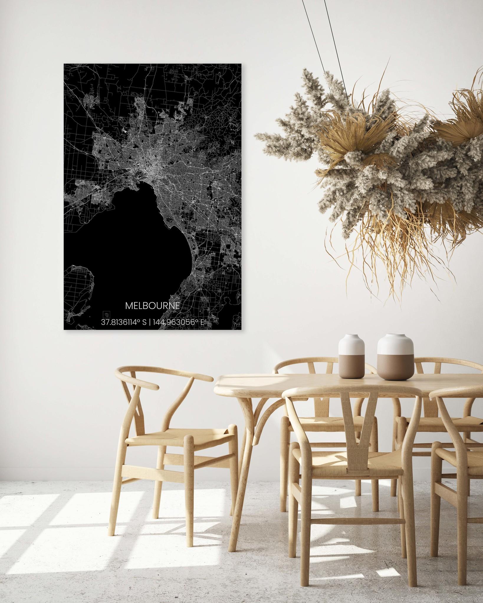 Stadtplan Melbourne XL-4