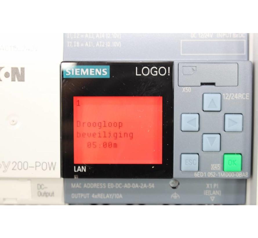 Steuerung Trommelfilter Siemens Logo8