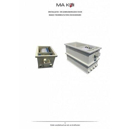 Installation Manual Makoi trommelfilter