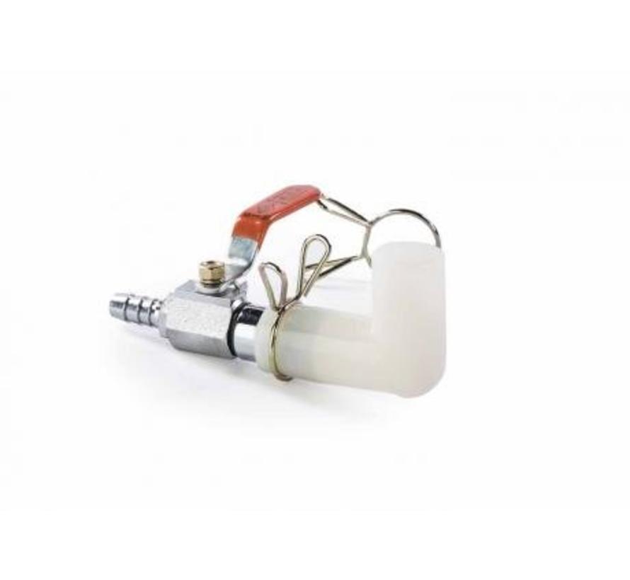Aansluitset luchtpompen 9mm