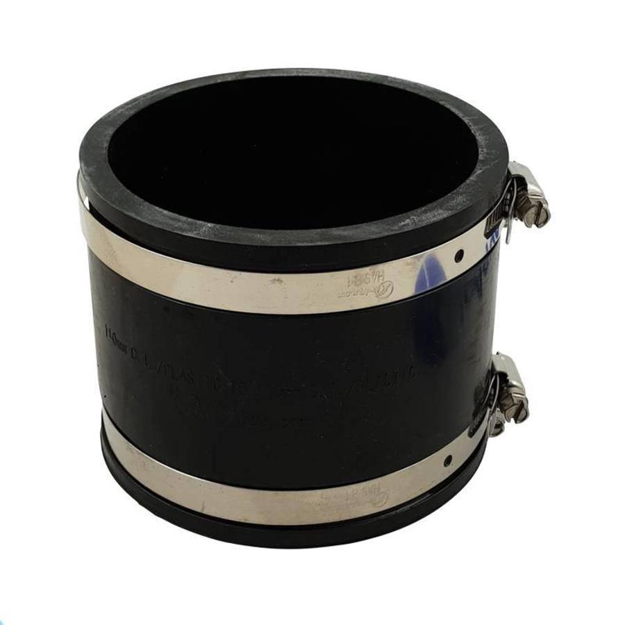 Flexible Kupplungen Bieten Zahlreiche Vorteile Bei Verbindungen Zwischen Pvc Rohrleitungen Und Insbesondere Bei Der Verbindung Von Pvc Rohrleitungen