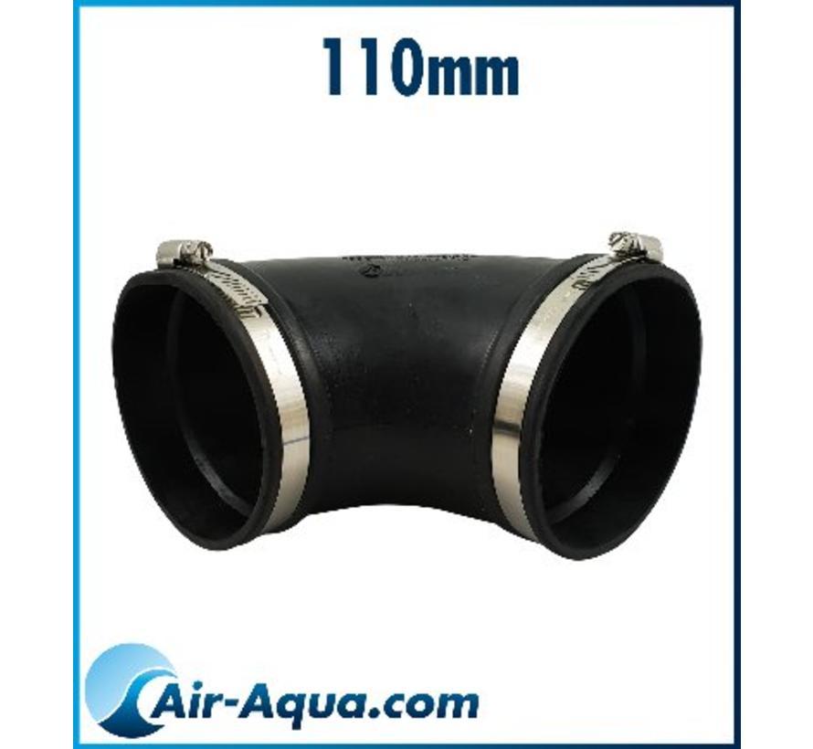 Flexible Kupplungen bieten zahlreiche Vorteile bei Verbindungen zwischen PVC-Rohrleitungen und insbesondere bei der Verbindung von PVC-Rohrleitungen mit nicht oder schlecht verklebbaren Materialien wie Edelstahl, PP, PE, Beton und Polyster.  - Copy - Copy