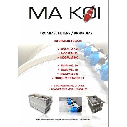 Onze catalogus Ma-koi Trommelfilters en Combidrums