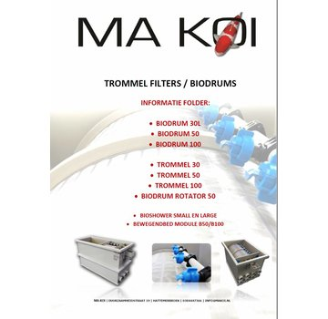 Folder Trommelfilters Biodrum