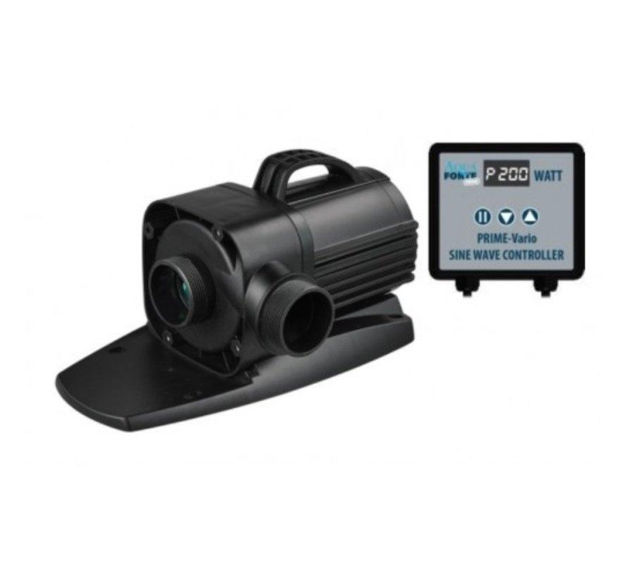 Nieuwste generatie Sine Wave vijverpompen met controller voor variabele snelheden van 30 tot 100%.