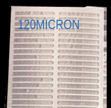 makoi Trommelfilter doek 114.5x40cm Standaard 120 MICRON