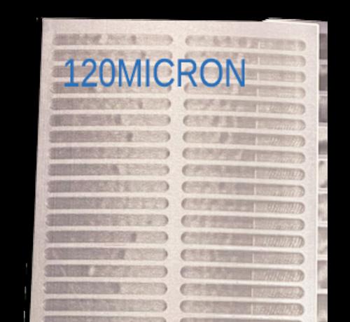 makoi Trommelfilter Sieb teile 120x40cm Standaard 30m3/st 120 MICRON