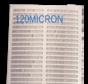 Screen zeefdoek voor trommelfilter 114.5x40cm 30m3/uur 120 MICRON