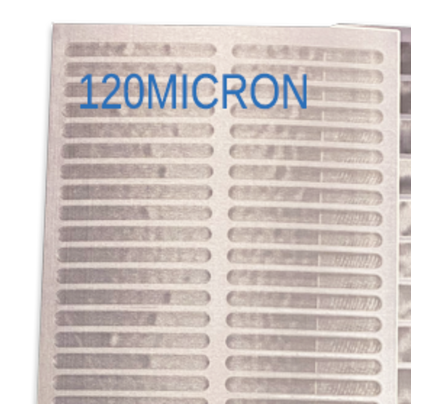 Trommelfilter Sieb teile 120x40cm Standaard 30m3/st 120 MICRON