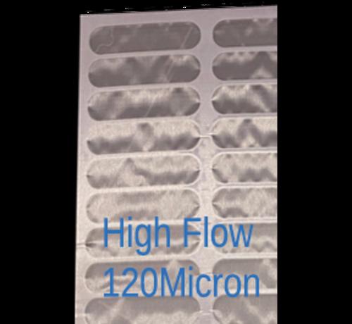 makoi Screen zeefdoek voor trommelfilter 120x40cm Highflow 120 MICRON