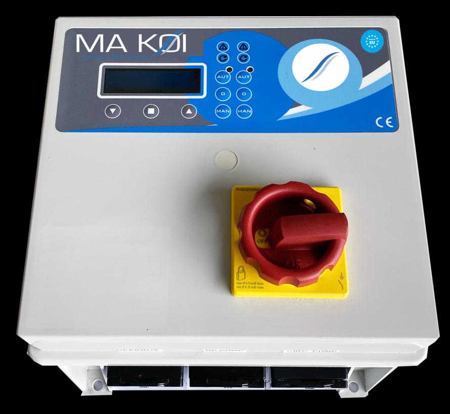 Der Makoi Biodrum 50 Filter Mit Japanischem Mattenraum inkl. Interner Spülpumpe