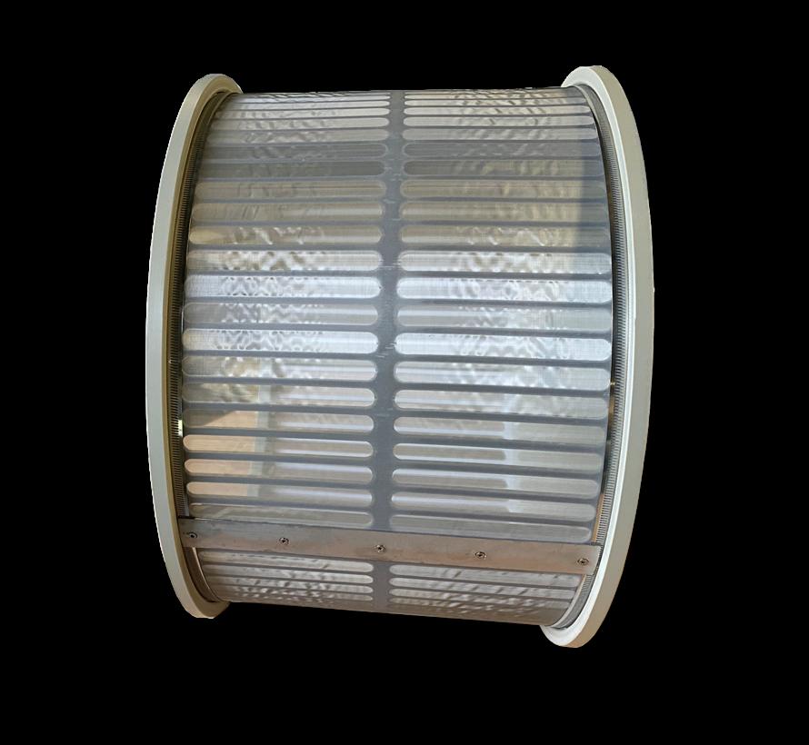 Einzel Trommel 50m3/Stunde mit 70 micron gewebe standard
