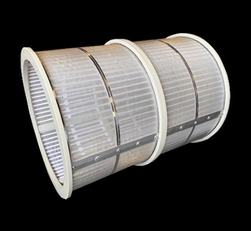 makoi Einzel Trommel 100m3/Stunde mit 70 micron gewebe standard