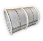 Losse trommel 100m3/uur met 70 micron doek standaard