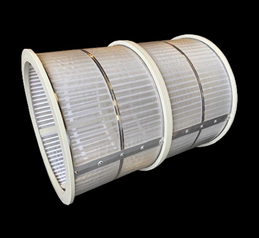 Einzel Trommel 100m3/Stunde mit 70 micron gewebe standard