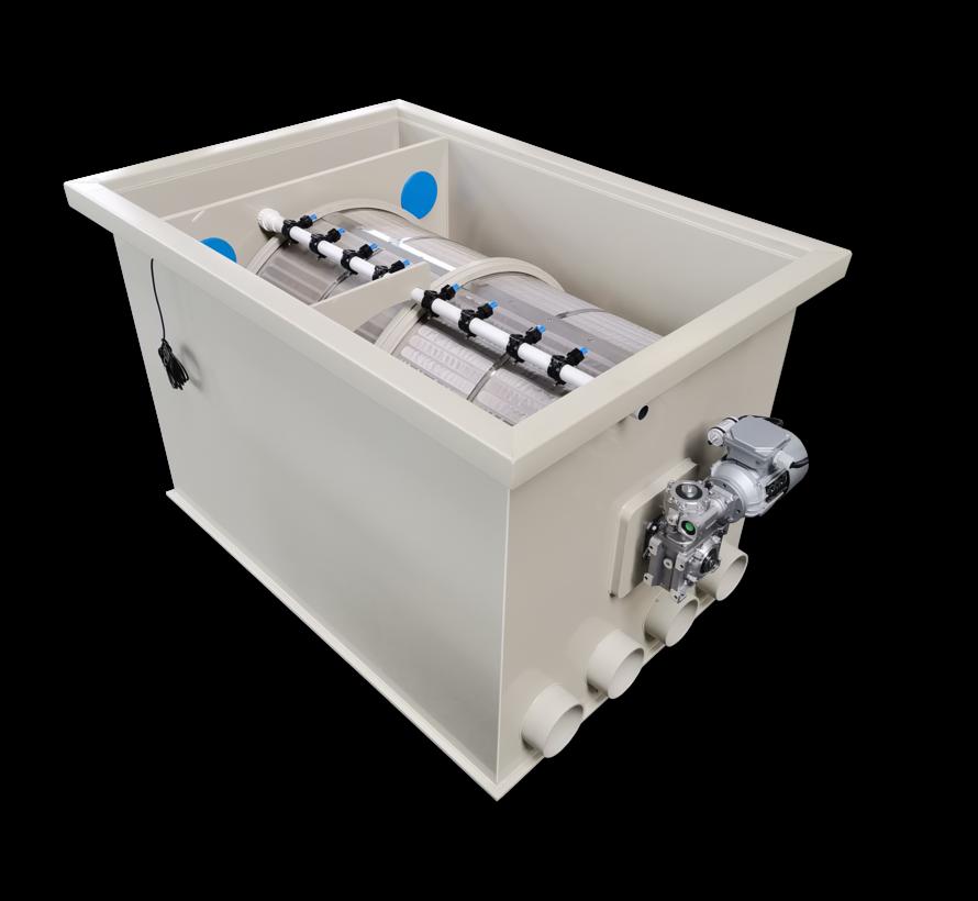 Makoi pondfiltration Drum 100