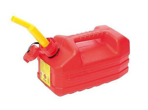 EDA EDA - Benzine jerrycan - Met tuit - 5 Liter - Rood