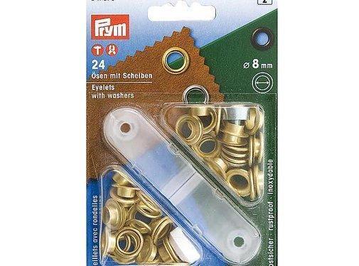 Prym Prym - Prym - Zeilringen - 8mm - 24 Stück