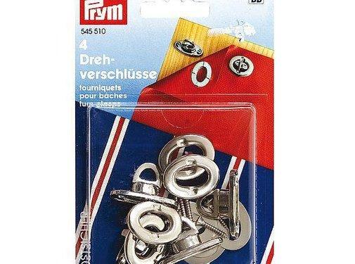 Prym Prym - Draaisluitingen - Tourniquets - 4 Stuks