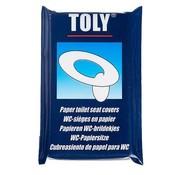 Toly Toly - WC-brildekjes - 10 Stuks - Papier