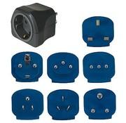 Brennenstuhl Brennenstuhl - Reisstekkers - Luxe - 7 Adapters