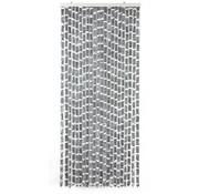 Arisol Arisol - Fliegenvorhang - Grau-Weiß - 90x220cm