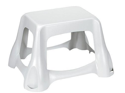 Curver Curver - Opstapje - Kunststof - 39x49x29,5 cm - Wit
