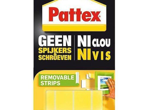 Pattex Pattex - Supermontage strips - Verwijderbaar - 10 Stuks