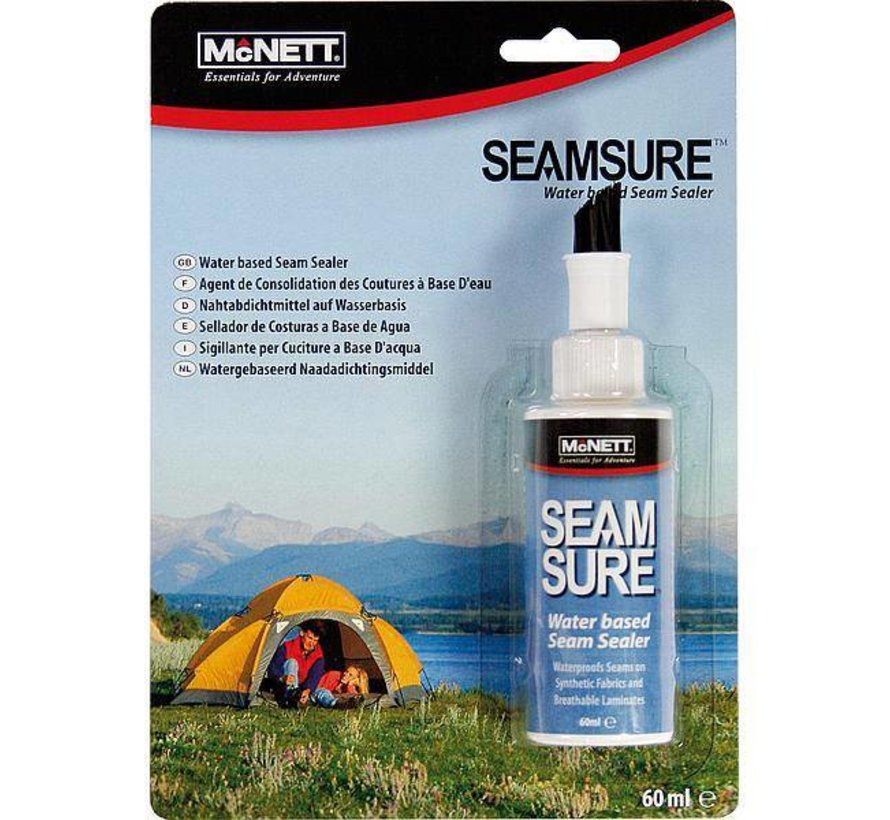 Gear-Aid - Waterproof voor naden - Seamsure - Sneldrogend - 60 ml