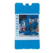 No Label Koelelementen - 2 Stuks - 15x8x4 cm - Blauw