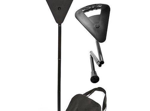 Flipstick Flipstick - Zit-/wandelstok - Opvouwbaar - Zwart