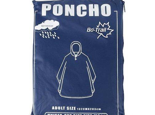 Bo-Trail Bo-Trail - Poncho - EVA - Volwassenen - Blauw