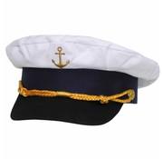 MFH Marinecap met gestickt gouden anker
