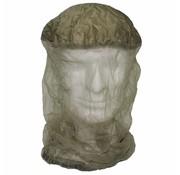 MFH Muskieten hoofdnet met stoffen elastiche bovenzijde olijfkleurig