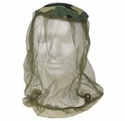 MFH Outdoor Muggenhoofdnet legergroen-woodland, elastische band