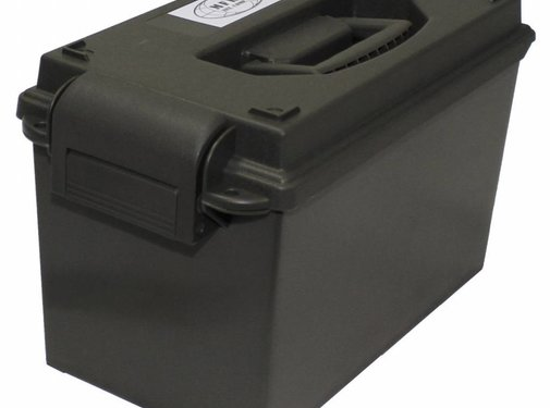 MFH Outdoor MFH - Amerikaanse munitiebox  -  Plastic  -  cal. 50 mm  -  OD groen