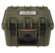 MFH Outdoor MFH - Hiking box - kunststof  -  waterdicht - legergroen  - 26,7 x 23,9 x 17,6 cm