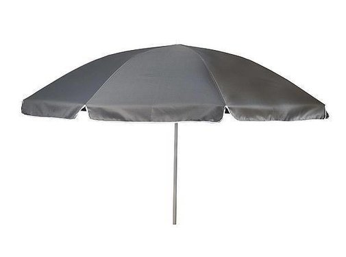 Bo-Camp Bo-Camp - Parasol - Met knikarm - Ø 200 cm - Grijs