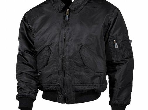 MFH Outdoor CWU-Piloten-Jacke, schwarz