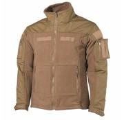 MFH High Defence Fleece-Jack 'Combat' coyote camouflage