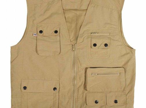 Fox Outdoor Outdoor vest khaki Microfaser