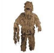 MFH Outdoor Camouflagepak 'Ghillie Suit' (Jas broek en hoed) desert