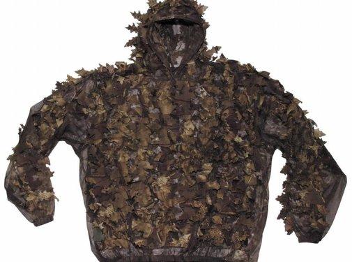 MFH Outdoor Camouflagepak 'Leaves' 3-delig hunter-brown