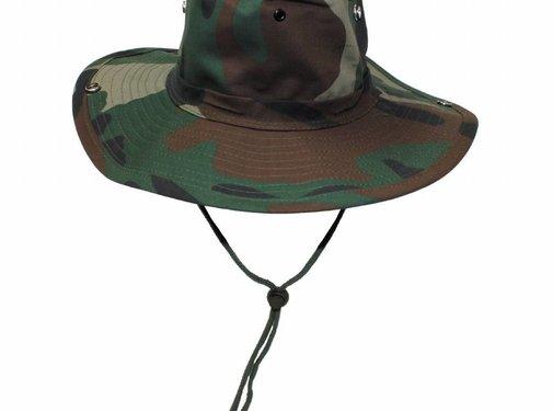 MFH Bush hat woodland met kinband verstelbaar