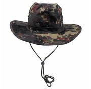 MFH Bush hat vlekkencamouflage met kinband verstelbaar