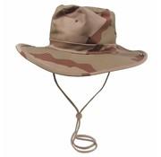 MFH Bush hat 3 kleuren desert met kinband verstelbaar